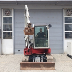 2013 MODEL TAKEUCHI TB138FR 4 TON MİNİ EKSKAVATÖR