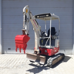 2015 MODEL TAKEUCHI TB215R MİNİ EKSKAVATÖR