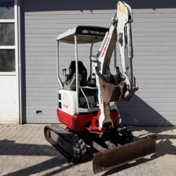 2016 MODEL TAKEUCHI TB215R MİNİ EKSKAVATÖR
