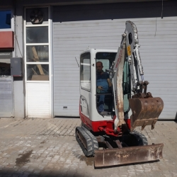 2016 MODEL TAKEUCHI TB216 KABİN MİNİ EKSKAVATÖR